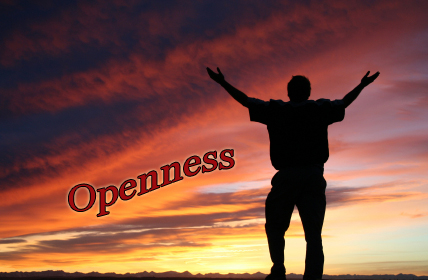 man-sunset-arms-up-openness